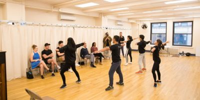 Broadway Showcase dihadapan para pemeran dan casting director pertunjukkan Broadway (courtesy foto:@haristjio)